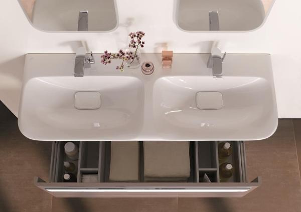 szafka łazienkowa z podwójną umywalką KOŁO My Day