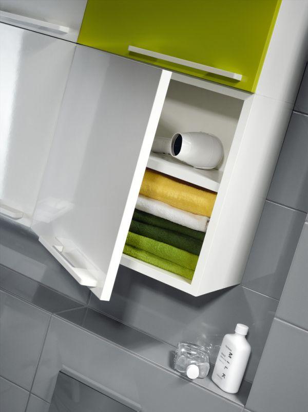 Mebla Nano do małej łazienki Cersanit