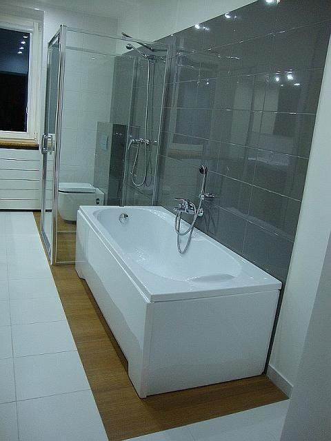 Szara łazienka - style w łazience lazienkowy.pl