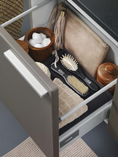 szuflada szafki łazienkowej Dice Tiger Coram