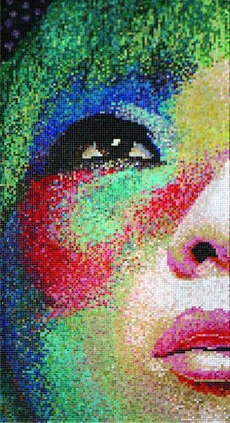 Coram - obraz z mozaiki