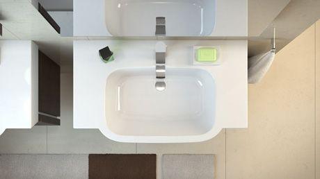 Sanitec KOŁO - umywalka meblowe Varius
