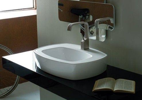 Umywalka nablatowa Tratto Coram