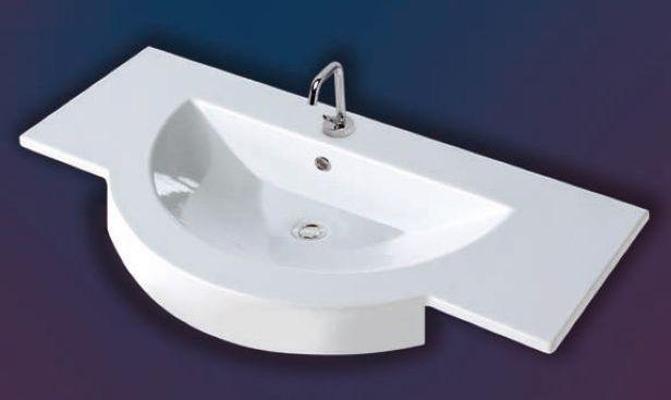 Umywalki półblatowe Coram