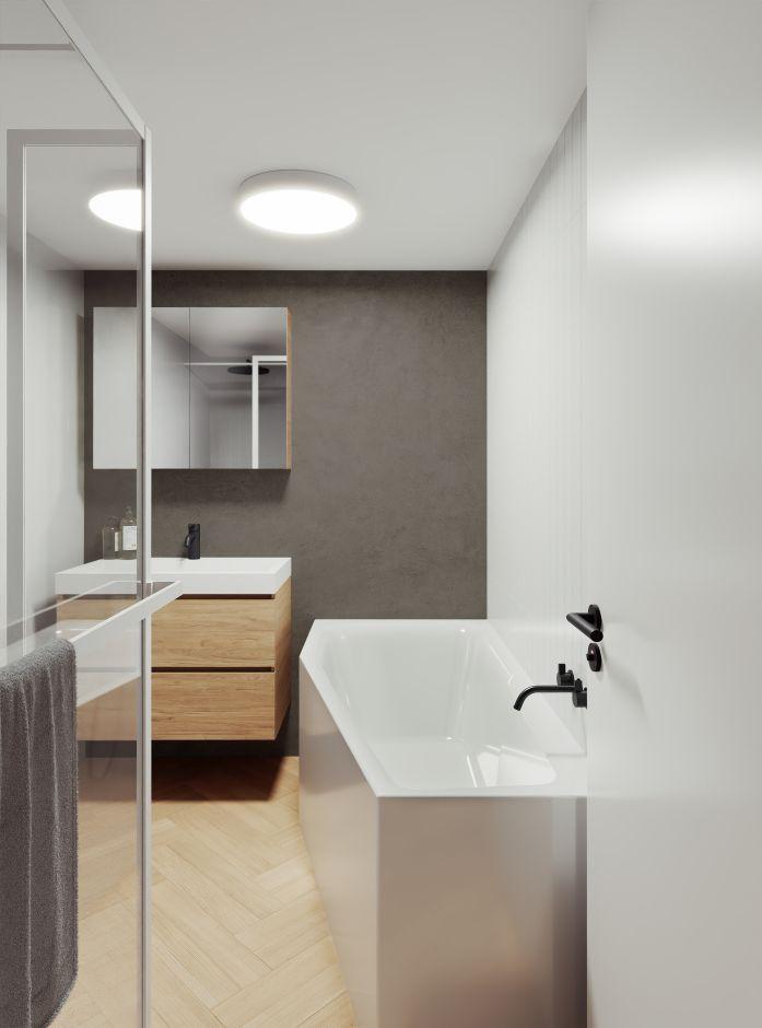 Wanna do małej łazienki