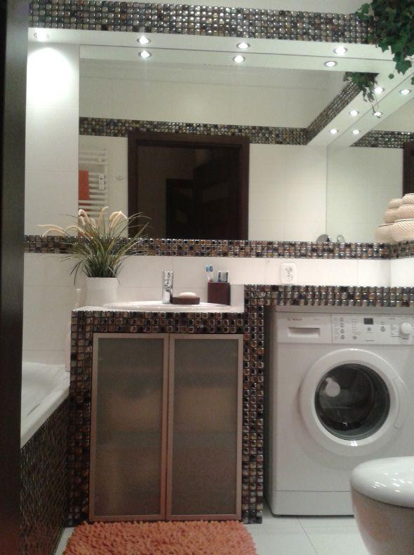 Zabudowa pralki w łazience - pomysły, aranżacje, zdjęcia