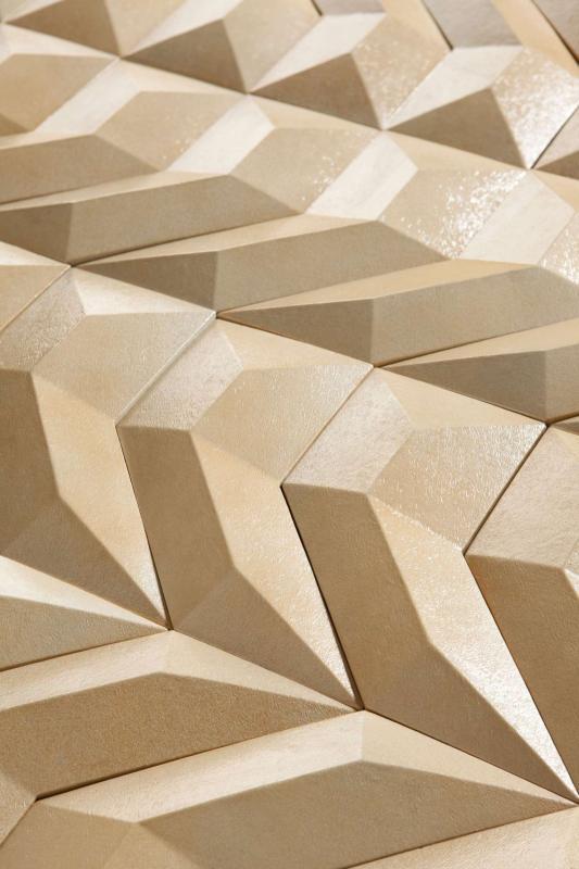 Złote płytki tekstura GEN kolekcja Disignio Harmony Peronda
