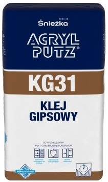 ACRYL-PUTZ KG 31 klej gipsowy do przyklejania płyt gipsowo-kartonowych - Śnieżka