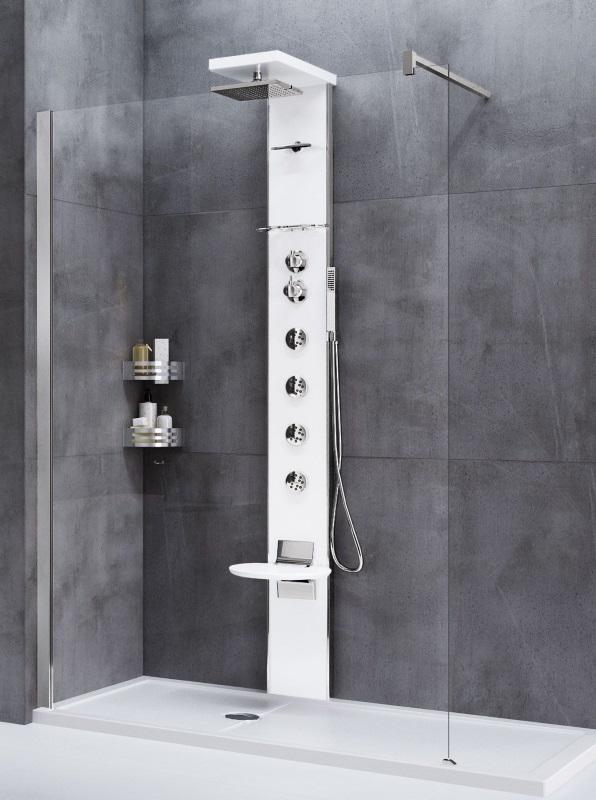 panel prysznicowy Novellini Aqua 1 Cascata 3