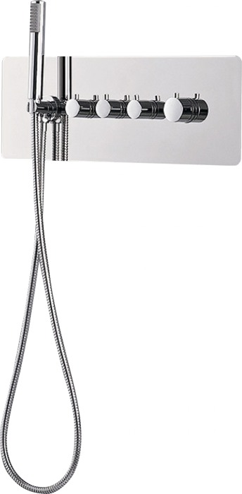 Deante -podtynkowa bateria termostatyczna Multibox Deante