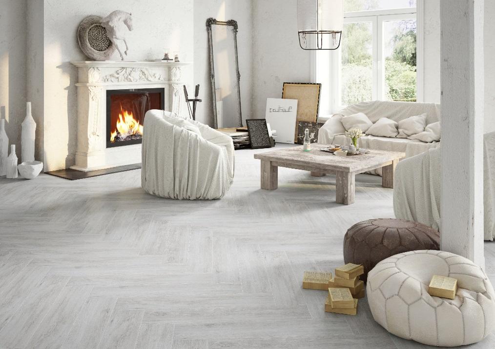 Catalea dust - płytki imitujące drewno - Cerrad