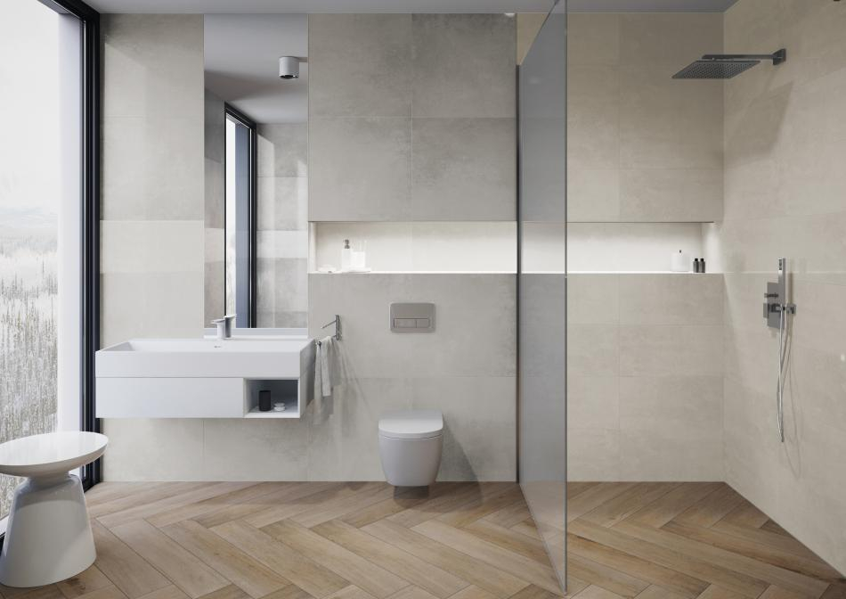 Cerrad - Kolekcja Tassero gris&beige lappato & Kolekcja Fuerta sabbia