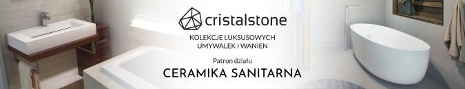 Cristalstone - awangardowe umywalki i wanny wolnostojące