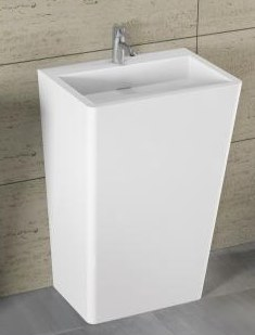 DIJON - umywalka stojąca z serii Solid Surface - Riho