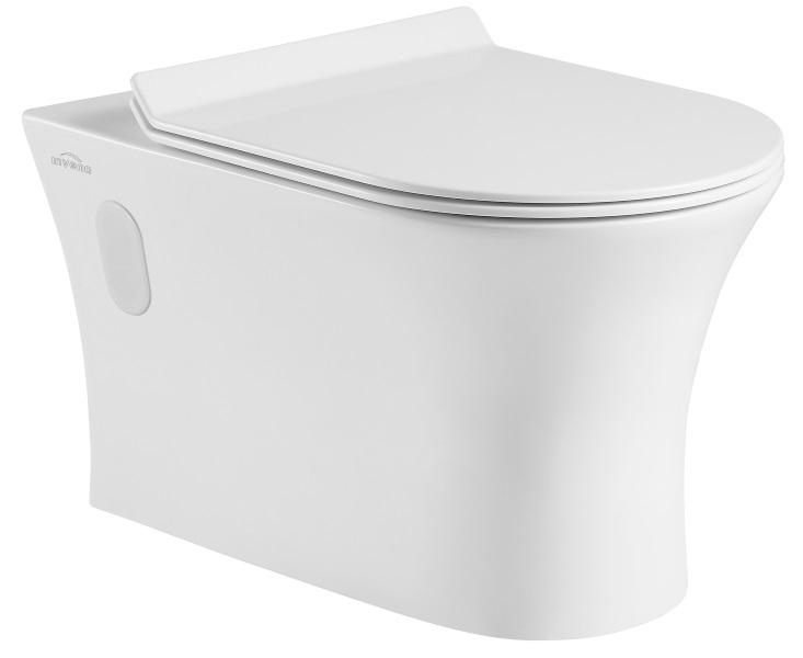 DOKOS - bezrantowa miska wc Invena