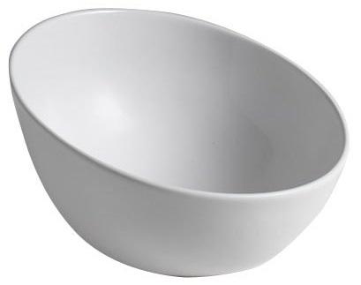 DOME OBLIQUO umywalka ceramiczna nablatowa - Sapho
