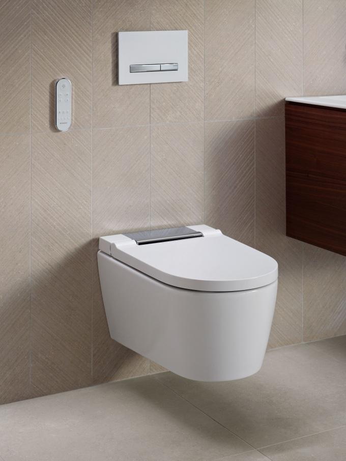 Nowa toaleta myjąca Geberit AquaClean Sela - design