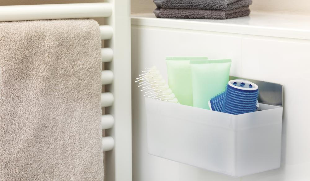 Haczyk łazienkowy wodoodporny tesa Powerstrips - montaż