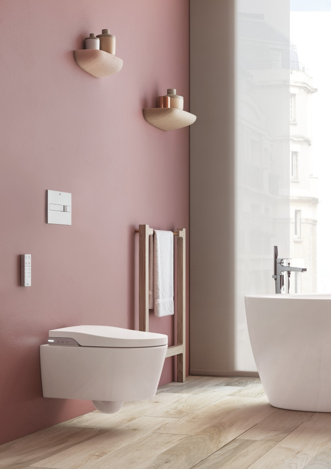 Inteligentna Lazienka Z Toaleta Myjaca In Wash Inspira Roca