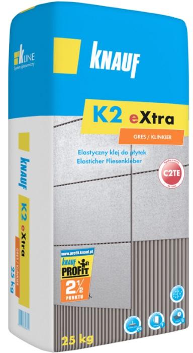 Knauf Bauprodukte Polska - Knauf K2 Extra Gres/Klinkier (C2TE)