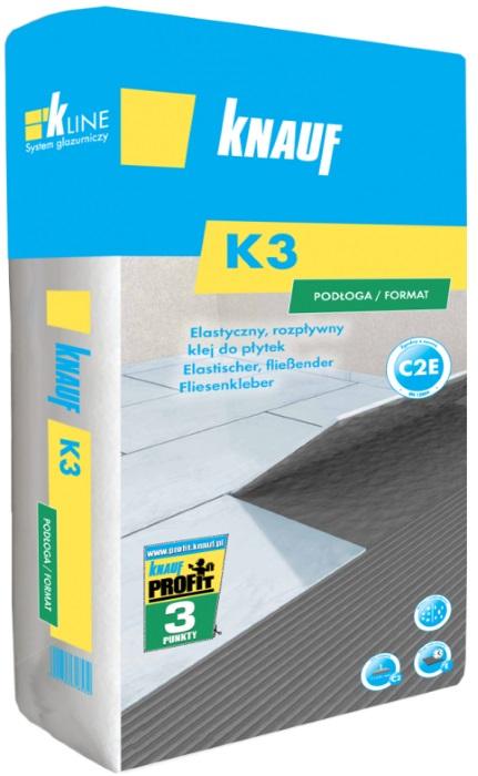 Knauf Bauprodukte Polska - Knauf K3 Podloga/Format - Klej do płytek podłogowych