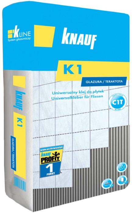 Knauf Bauprodukte Polska - Knauf K1 Standard Uniwersalny do płytek cerarmicznych