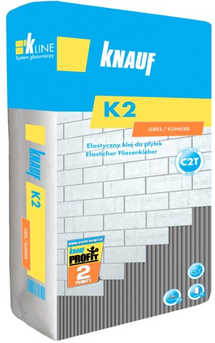 Knauf_K2 - elastyczny klej do płytek