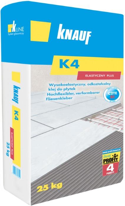 Knauf K4 Elastyczny Plus - klej do płytek