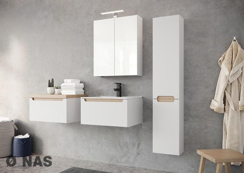 Kolekcja mebli modułowych do łazienki STILLA marki  O NAS