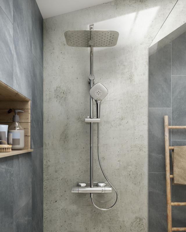 Kolumna prysznicowa z zestawem EVO JET DIAMOND - Ideal Standard