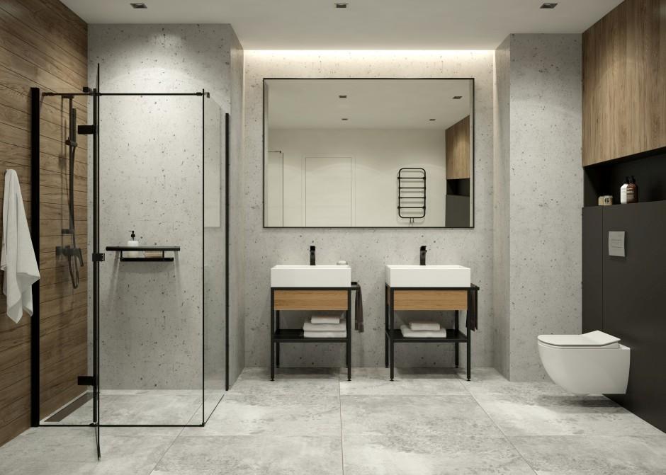 Konsola łazienkowa – wersja stojąca