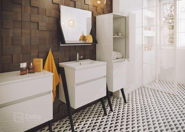Kolekcja mebli łazienkowych OP-ARTY
