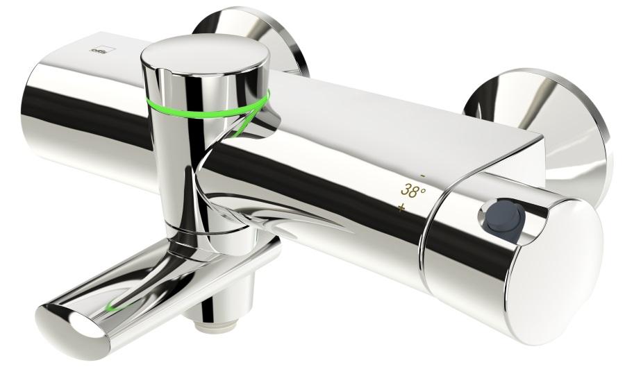 Oras Eterna 6375U - Termostatyczna bateria wannowo-natryskowa