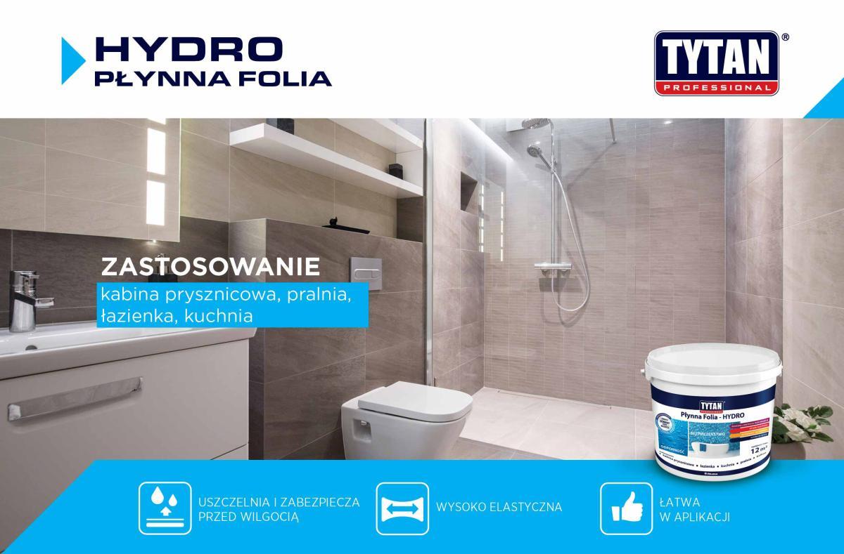 HYDRO - TYTAN Professional Płynna Folia