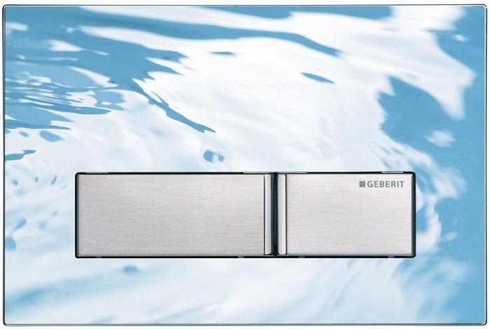 Przycisk spłukujący Geberit Sigma50 z możliwością wypełnienia własnym materiałem