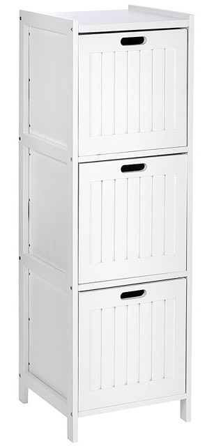 Regał łazienkowy OSLO z 3 szufladami WENKO