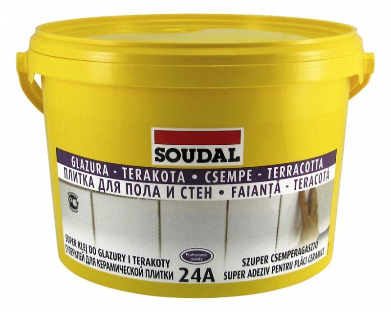 Soudal - Super klej do glazury i terakoty 24A