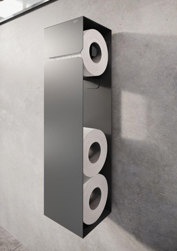 Uchwyt na papier toaletowy wysoki Defra Nodo