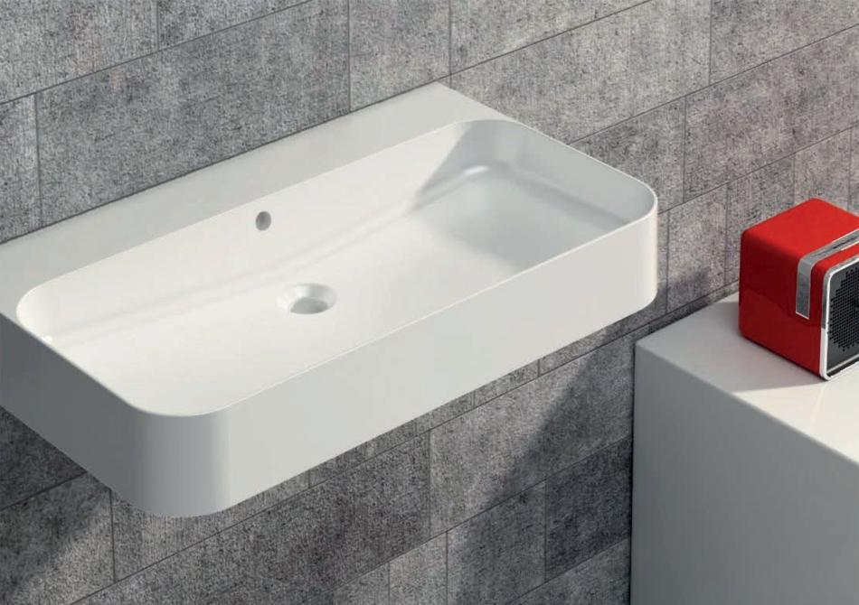Coram -  umywalka Slim Disegno