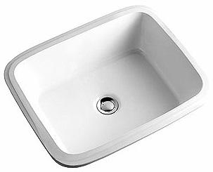Koło - umywalka podblatowa Style