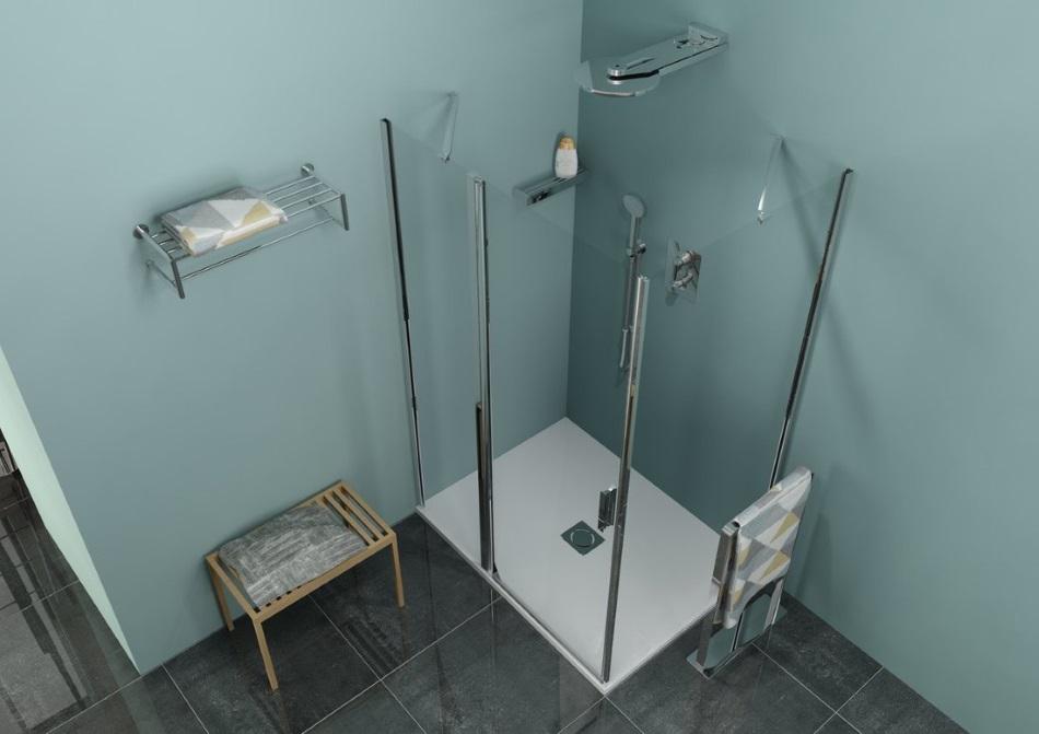 Zoom Line - prostokątna kabina prysznicowa marki Polysan - Sapho
