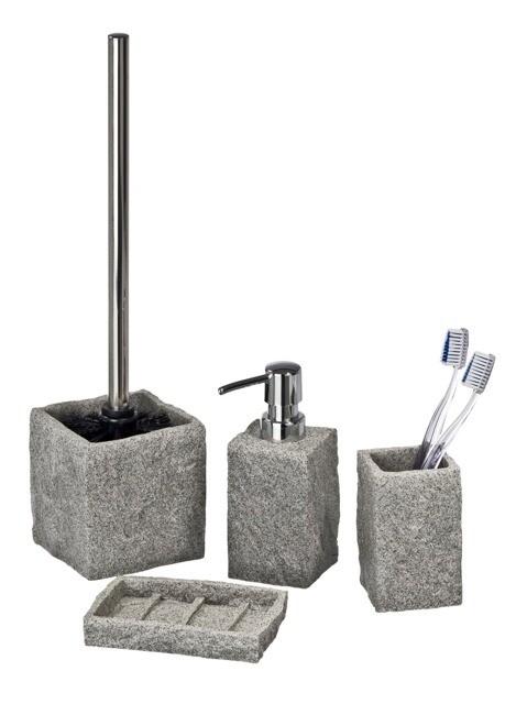 Akcesoria łazienkowe w stylu eko