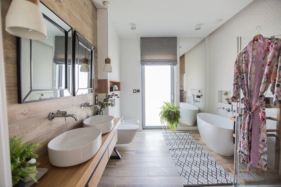 Aranżacja łazienki dla dwojga