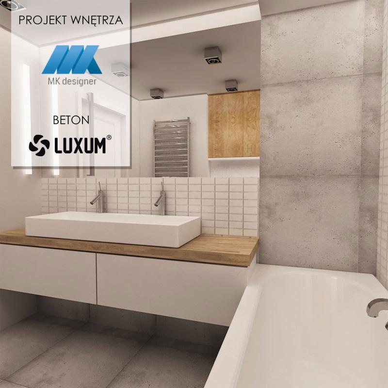 Nowoczesna łazienka Luxum