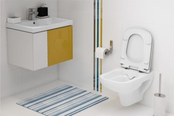 Clean ON - bezkołnierzowe miski toaletowe Cersanit