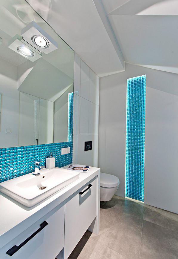 Łazienka ożywiona kolorami
