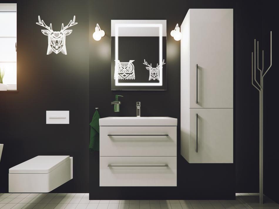 meble łazienkowe z kolekcji Trento