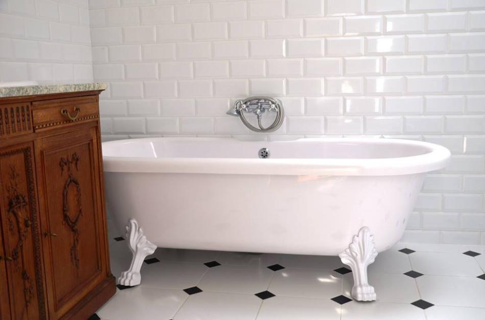Łazienka w stylu retro
