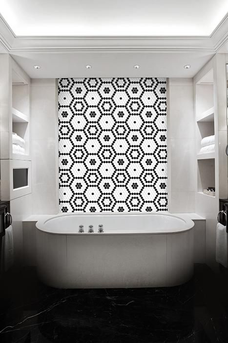 heksagony Dunin - płytki na ścianie