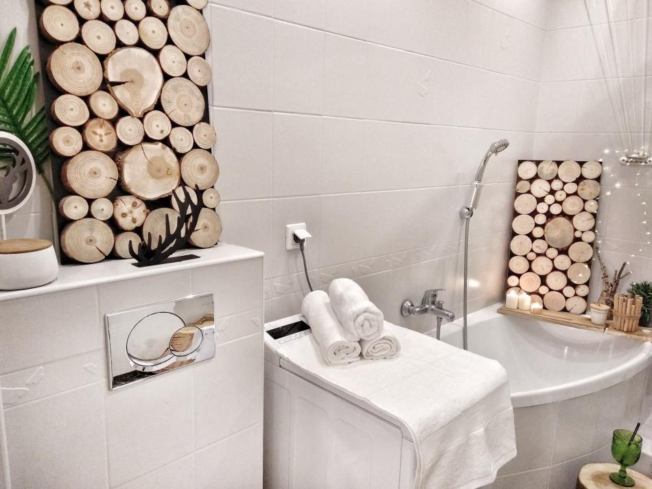 Dekoracje do łazienki - jak zrobić ramkę w stylu skandynawskim